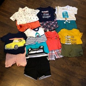 Bundle of 8 baby outfits 18 months